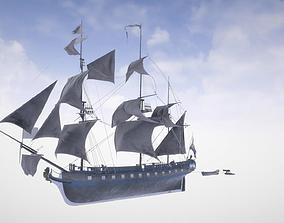 3D Sail Boat