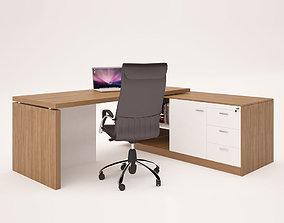 3D model Office Desk and WorkRoom Desk 2021 FREE