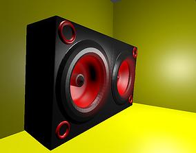 3D animated speaker
