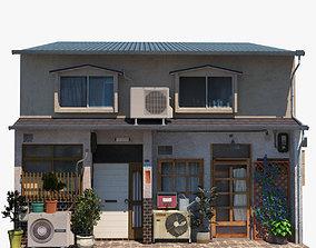 Fukuoka Houses 3D asset