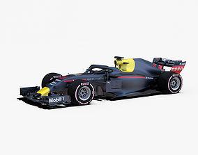 Formula 2018 car 3D model