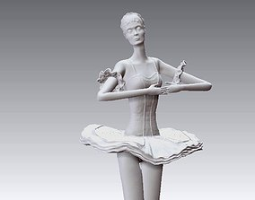 3D printable model Decorative Woman Sculpture