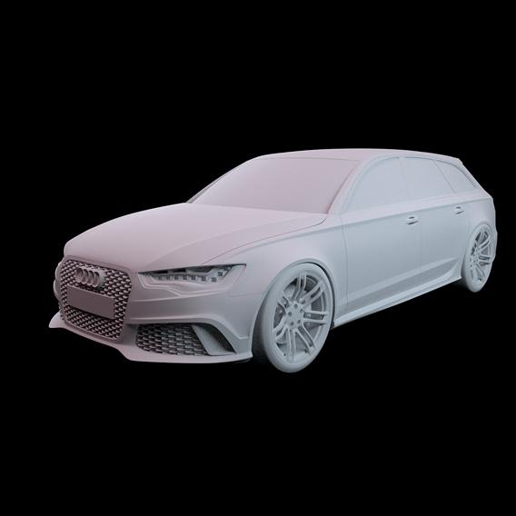 Audi RS6 2015 no material