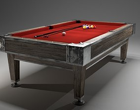 3D model Billiard table billiard