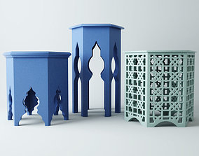 Ethnic tables 3D