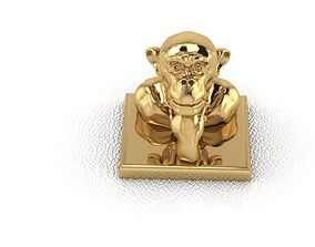 3D printable model Monkey 1