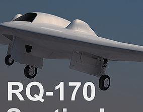 3D model US Air Force RQ-170 Sentinel UAV Beast of