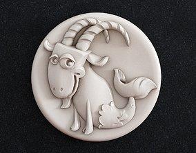 Capricorn Zodiac zodiac 3D print model
