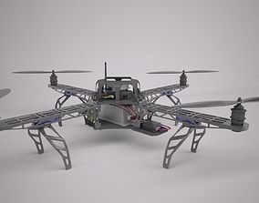 Quadcopter Drone 3D
