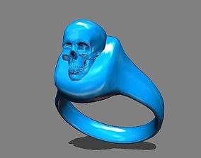 head skull ring 30 mm 3D print model