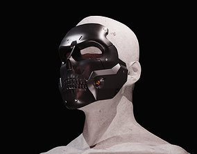 DieHardman mask from Death Stranding 3D print