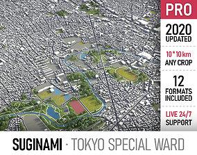 Tokyo - Suginami 3D asset