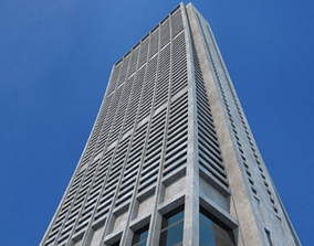 3D model Chase Tower Chicago