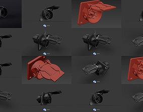 Abs plugs 3D model