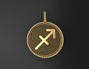 Sagittarius is a sign of the zodiac 3D printable model