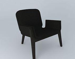 3D model Chair backpack