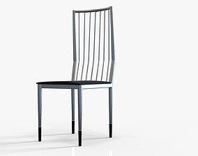 3D asset Simple Metal Chair