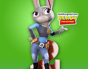 3D printable model Judy Hoops Fanart