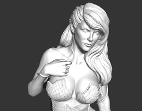 Sexy Poison ivy Female Character 3D printable model