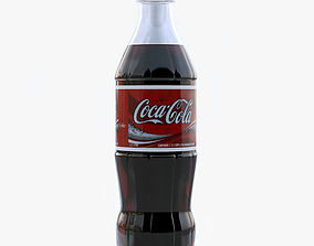 3D model soda Cola bottle
