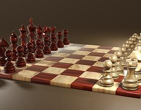 3D asset Chess Set Classic