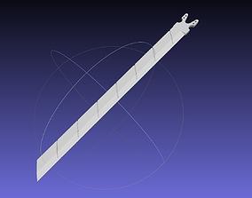 3D printable model Attack On Titan Sword Functional