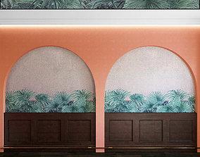 3D Wall Panel Set 104