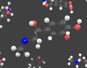 3D Adrenalin molecule - Model