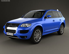 3D model Volkswagen Touareg R50 2007