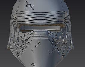 Kylo Ren Helmet for 3D-printing