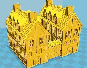 Medieval House 18 3D print model