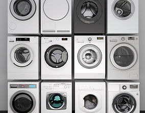3D washing machine collection