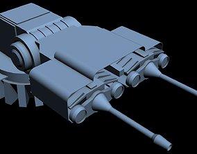 3D Starship Detail 12