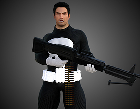 3D model The Punisher Classic