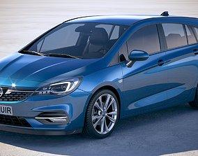 Opel Astra Sports Tourer 2020 3D model