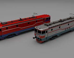 3D model Locomotive collection