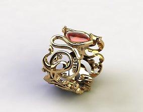 3D printable model art Brilliant Ring