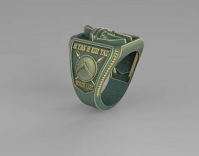 3D printable model Leonidas of Spartan Ring