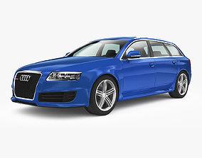 Audi RS6 Avant 2008 3D asset