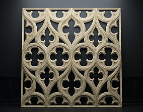 Paneling belonging to Carlisle Cathedral 1842 V2 3D