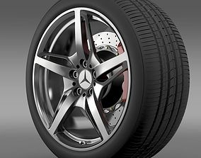3D model Mercedes Benz AMG GT S wheel