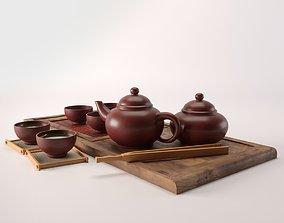 tea ceremony kit 3D model
