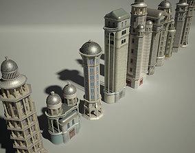 3D model Old Fantasy Building