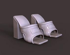 women shoe 3D printable model