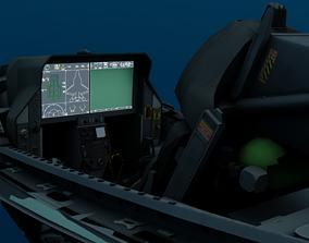 F-35 Cockpit 3D model