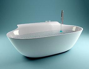 3D model Falper - Scoop bathtube lounge