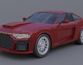 Generic muscle car mark 2B 3D model