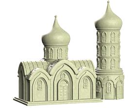 3D print model orthodox chapel