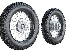 3D model Maxxis Motorcycle Wheels