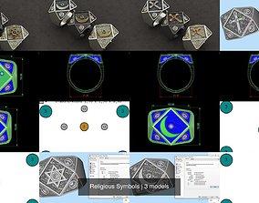 Religious Symbols 3D